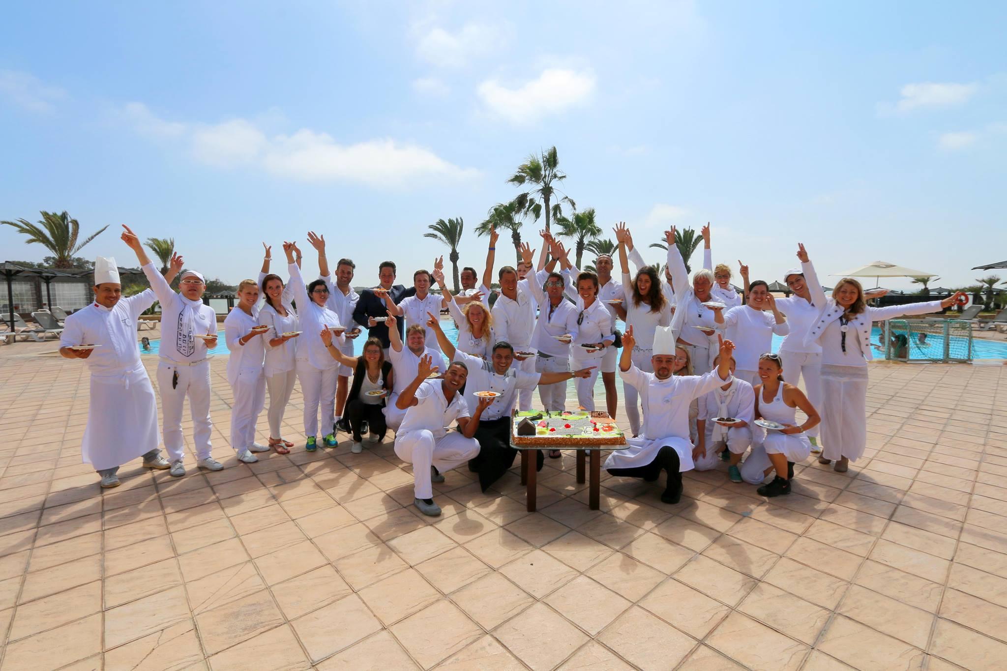 Das Team des ROBINSON Club Agadir